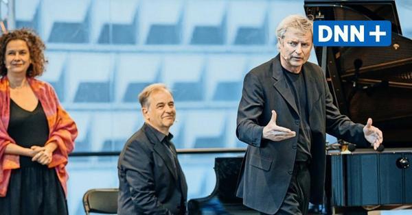 Angelika Kirchschlager, Alfred Dorfer und Julius Drake gastierten bei den Dresdner Musikfestspielen