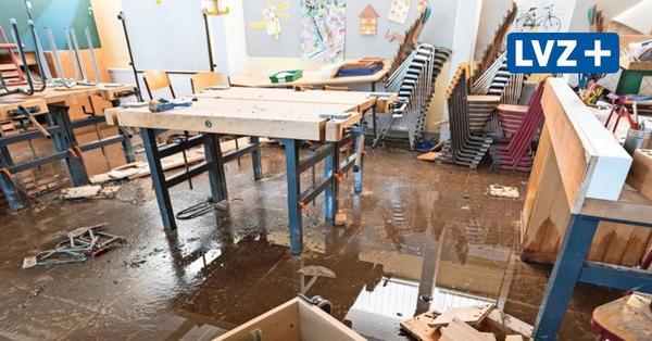 Ringelnatz-Schule in Leipzig-Grünau: Unwetter verhagelt Neustart nach Corona