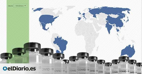 Radiography of the production of the COVID vaccines: 35 countries concentrate on the production of the main doses (in Spanish)
