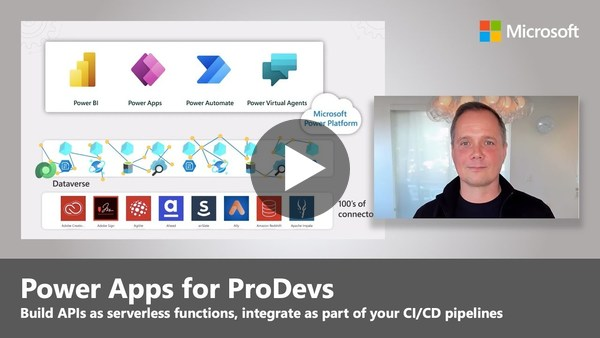 Power Apps for ProDevs | APIs, DevOps & Publishing to Microsoft Teams