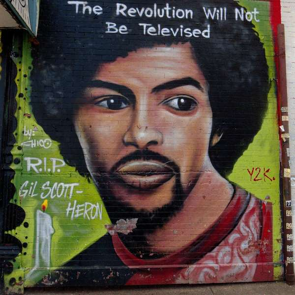 The Revolution Will Not Be Televised, East Village, New York City, March 2020.