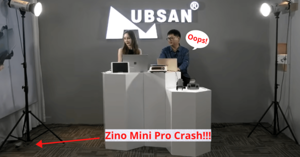 Hubsan crashes Zino Mini Pro during product launch livestream - DroneDJ