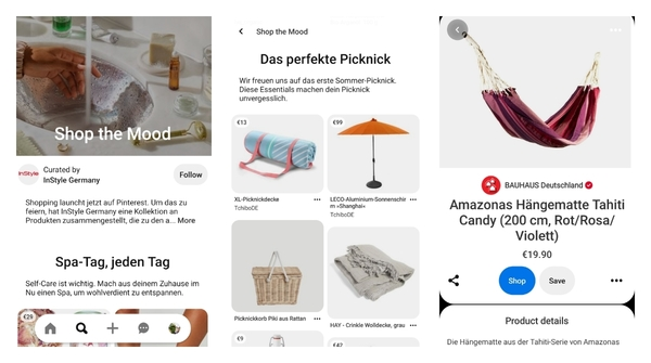 Pinterest enables in-app shopping in more countries