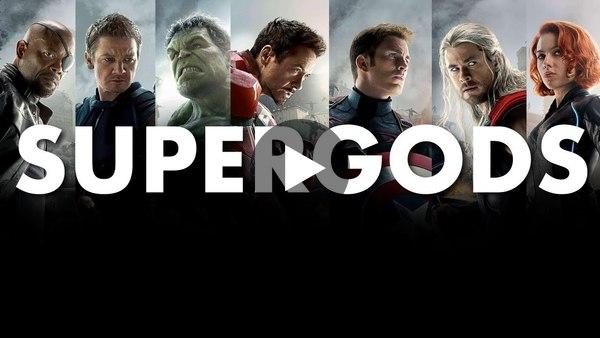 Supergods - MARVEL Avengers and the future of Homo Deus