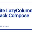Infinite LazyColumn in Jetpack Compose