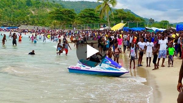 Fête de la mer - 01 Juin 2021 Anpil moun ap pran plezi Bonbon