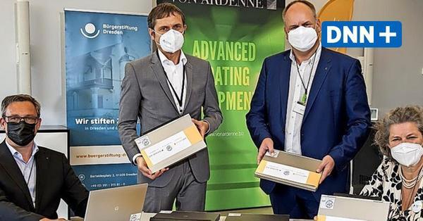 Wie ausrangierte Laptops Schülern in Dresden helfen