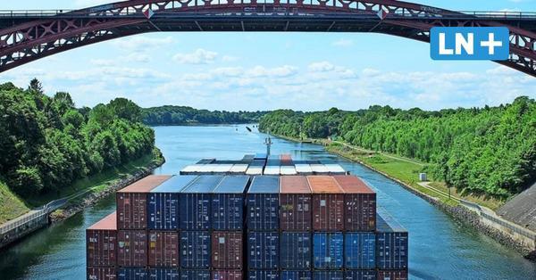Mehr Wohlstand: Nord-Ostsee-Kanal sorgt für ein Plus von 570 Millionen Euro