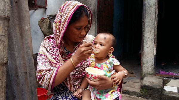 Food that boosts gut microbes could be a new way to help malnourished kids
