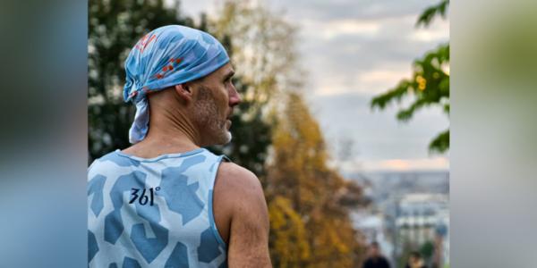L'incroyable nouveau défi d'un triathlète de l'Ain