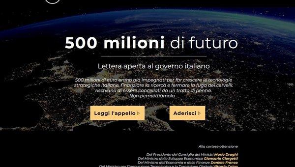 Le startup scrivono a Draghi per riavere i 500 milioni di euro tolti a Enea Tech: Lì c'è il nostro futuro - Italian Tech