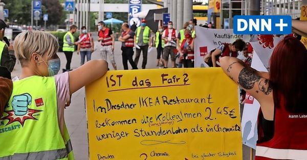 Verdi-Streik im Einzelhandel: Ikea Dresden und Kaufland betroffen