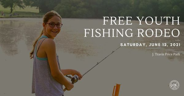 Free Fishing Rodeo for Children | Saturday, June 12 at 6:30am