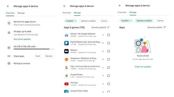 Google Play is rolling out a new flow to manage your apps