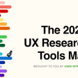 The 2021 UX Research Tools Map