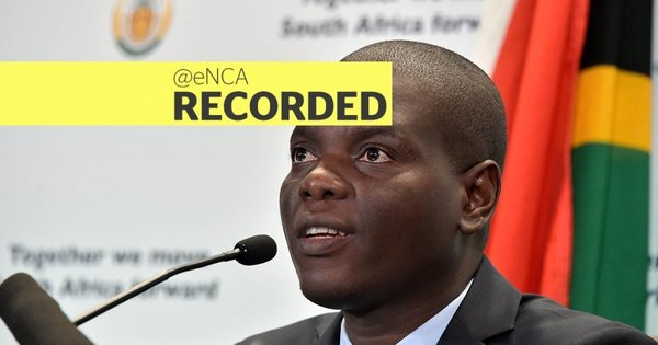 WATCH: Lamola provides update on SA's extradition treaty with UAE | eNCA