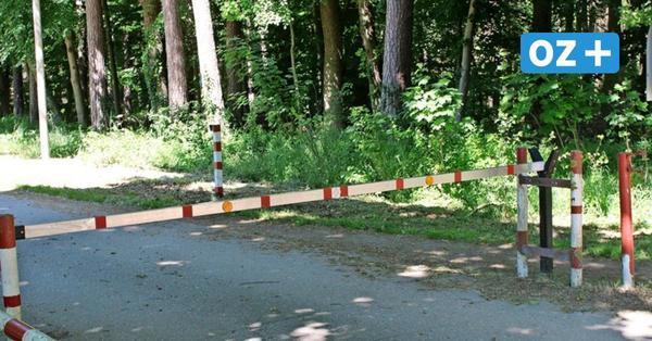 Neuheide bei Ribnitz: Warum diese Schranke eine Gefahr für Radfahrer ist