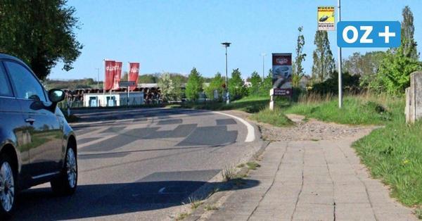 Lücke im Radwegenetz in Mukran auf Rügen: Anwohner versorgen gestürzte Radfahrer