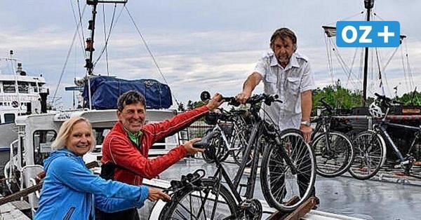 """Fahrradfähre in Ueckermünde legt wieder ab: Die """"Priwall V"""" nimmt Kurs auf Usedom"""