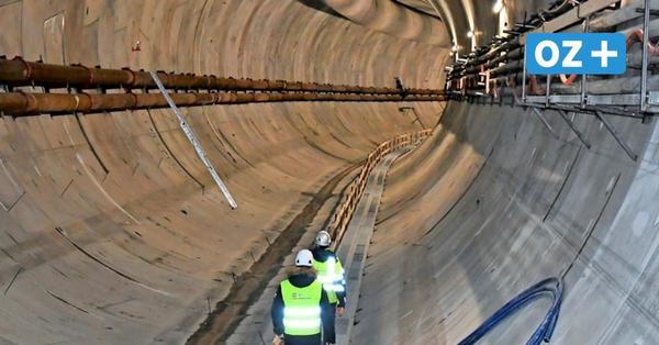 Swine-Tunnel: Jetzt wird unter dem Fluss gebohrt