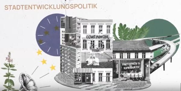Die Neue Leipzig-Charta will sich stärker den kleinen und mittleren Städten widmen. Quelle: Präsentation Cities Fit for Future/Screenshot