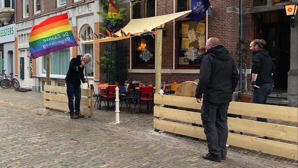Waarheen? Zaanpride, Pride Walk, Regenboogterrassen...   De Orkaan
