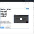 Nebo, the visual React editor