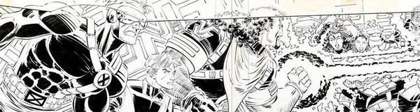 John Romita Jr. - X-Men Original Comic Art