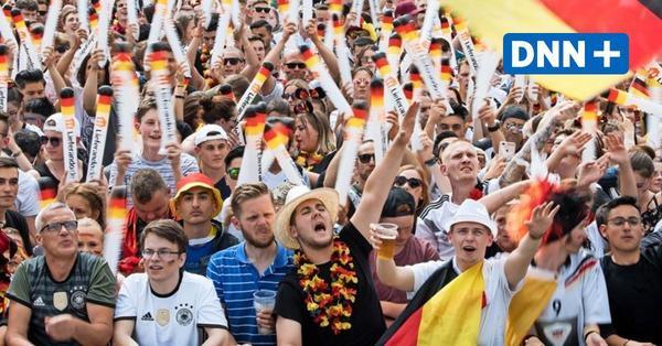 Hier kann man die EM beim Public Viewing in Dresden sehen