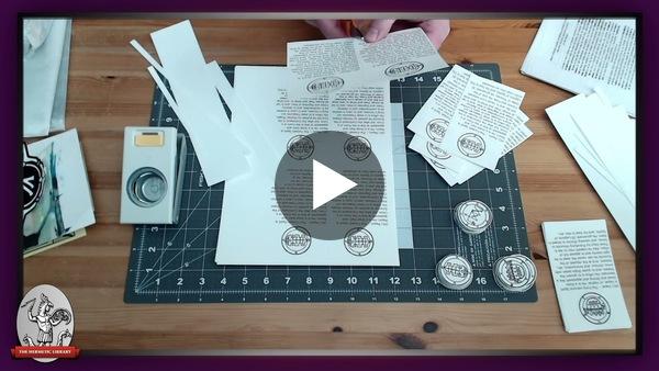Folding, cutting, collating, & stuffing Postal Exchange envelopes