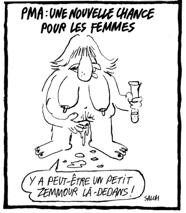 "(Salch dans ""Charlie-Hebdo"", 9 juin)"