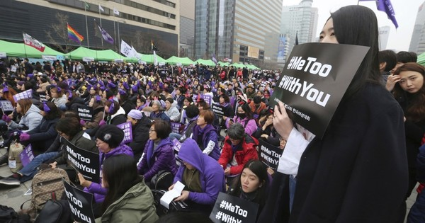 What's size got to do with it? Mocking a man's manhood spurs a reverse #MeToo in South Korea