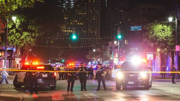 'People were freaking out': 13 injured in shooting in downtown Austin's entertainment district