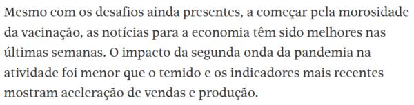 Editorial da Folha de S. Paulo (12/06/21)
