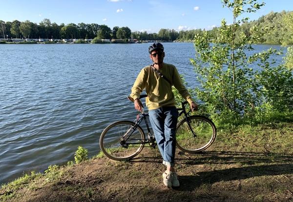 Solange ich kein neues Rad habe, fahre ich natürlich mit meinen alten Rädern weiter.