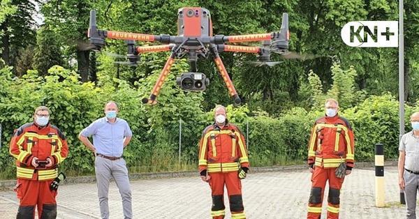 Feuerwehr Preetz - Drohne hilft bei Personensuche und Feuer