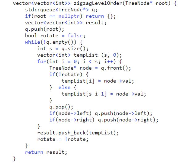 Dùng thêm một biến rotate để thể hiện chiều của các node trong cùng level!