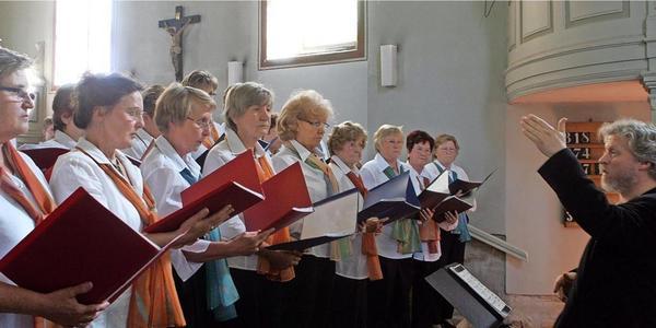 In Sachsens Kirchen darf wieder gesungen werden