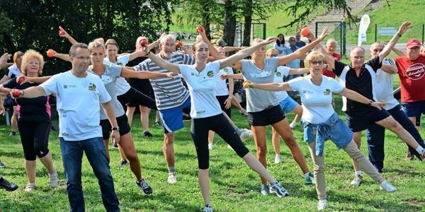 Ab Montag: Fitness unter freiem Himmel in Dresden
