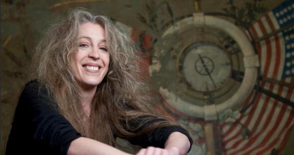 L'écrivaine Tina Uebel (Freelens Pool Malzkorn)