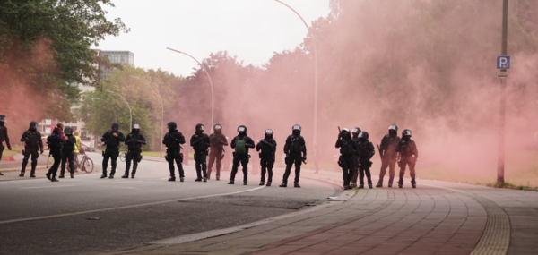 Lors du G20 à Hambourg en juillet 2017 (AD)