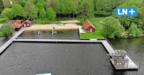 Badeverbot verschoben: Luisenbad in Mölln darf Mitte Juni öffnen
