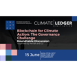 EVENT: Blockchain for Climate Action and the Governance Challenge