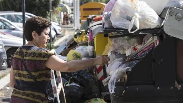Müllsäcke türmen sich meterhoch: Rom steht vor dem Müllkollaps