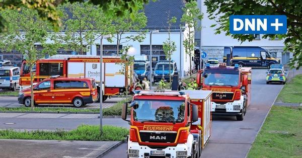 Sprengstoff-Einsatz auf dem Dresdner Polizeigelände