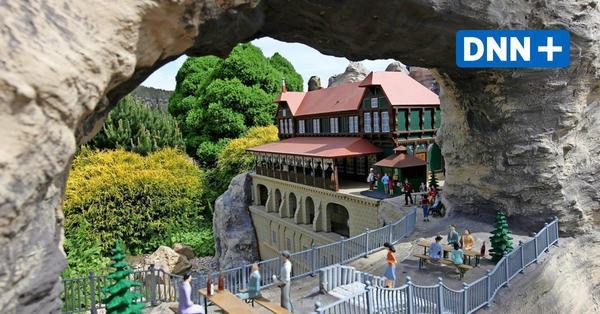 Ab Dienstag geöffnet: Die Eisenbahnwelten in Rathen