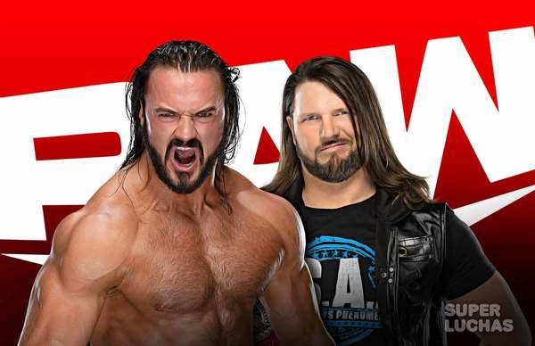 WWE RAW 14 de junio 2021 | Resultados en vivo | Drew McIntyre vs. AJ Styles