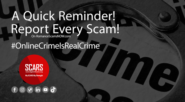 A Quick Reminder To Report All Scams   Reporting Scams & Scammers