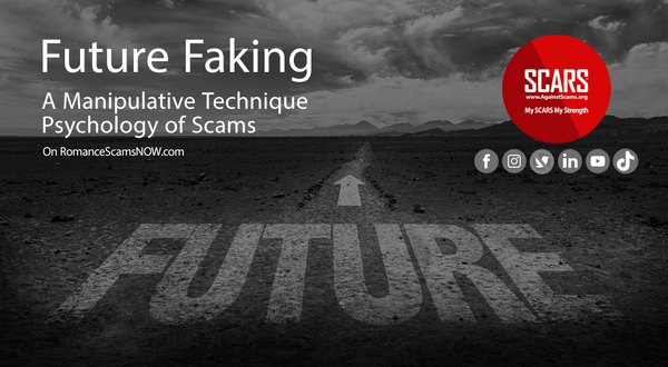 Future Faking - Future Planning As A Manipulation Tactic Of Scammers