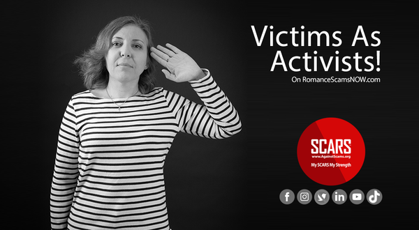Victims As Activists & Why Many Scam Victims Should Delay Or Not Become One